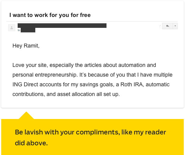 Example of good Email Introduction 1