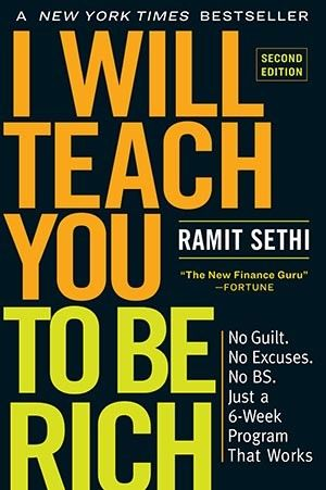 'I Will Teach You To Be Rich' by Ramit Sethi Book Cover