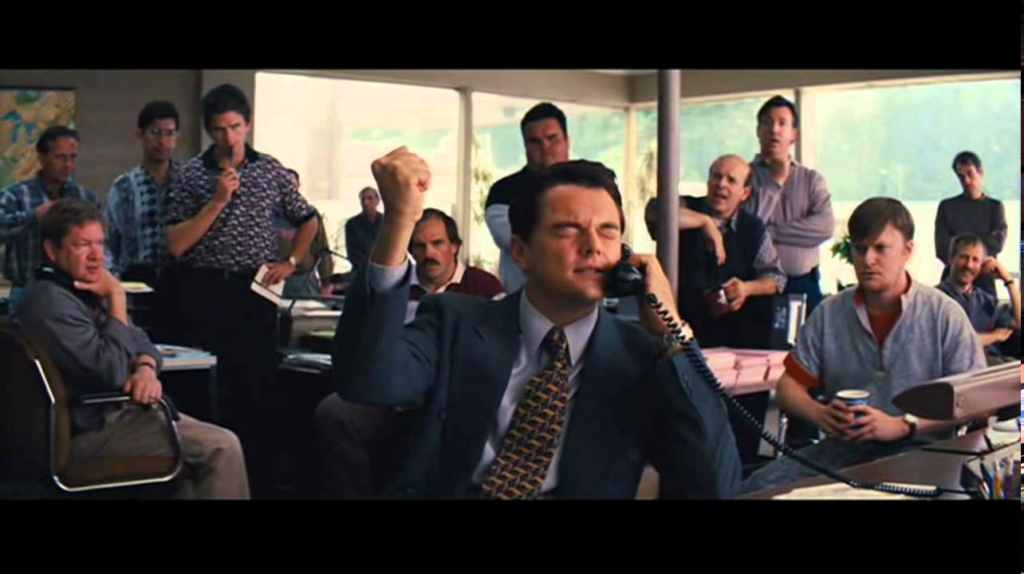 Hollywood Depiction of Stock Trading
