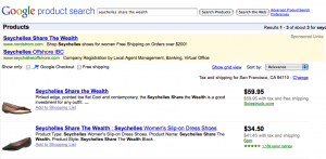 example of product research on eBay