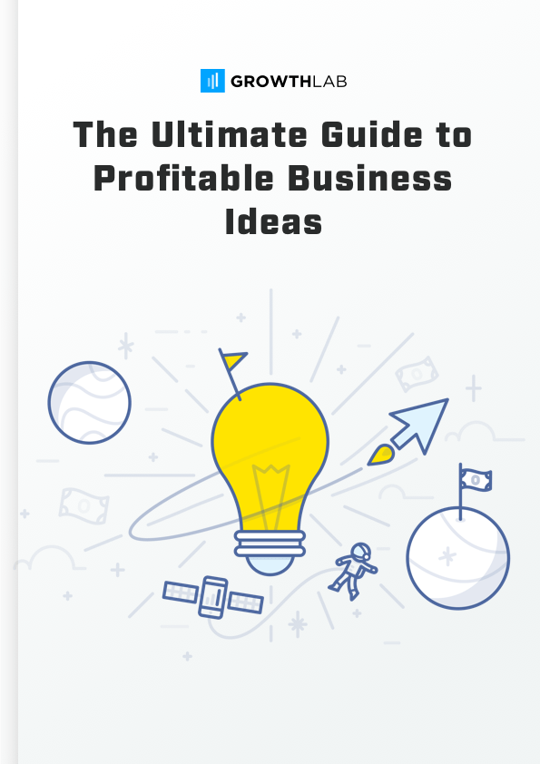 The Ultimate Guide To Business Ideas Cover