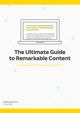 The Ultimate Guide To Remarkable Content